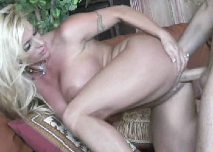 Mature blonde Holly gets pounded